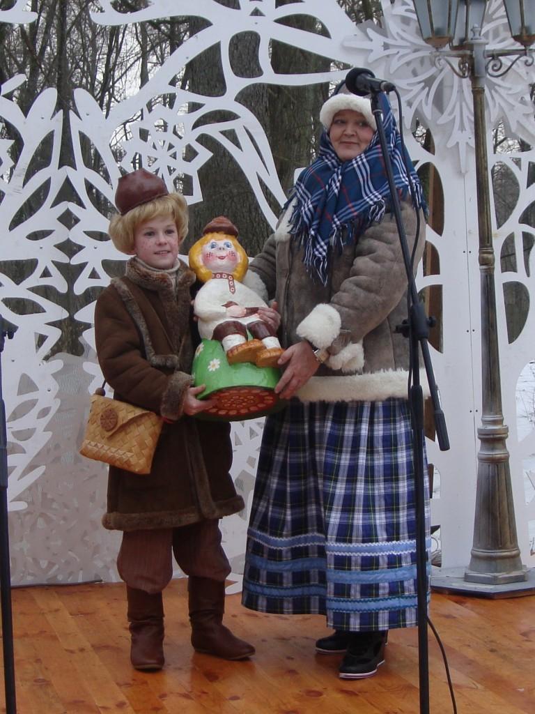 Глинышек с Бабушкой в Беловежской Пуще