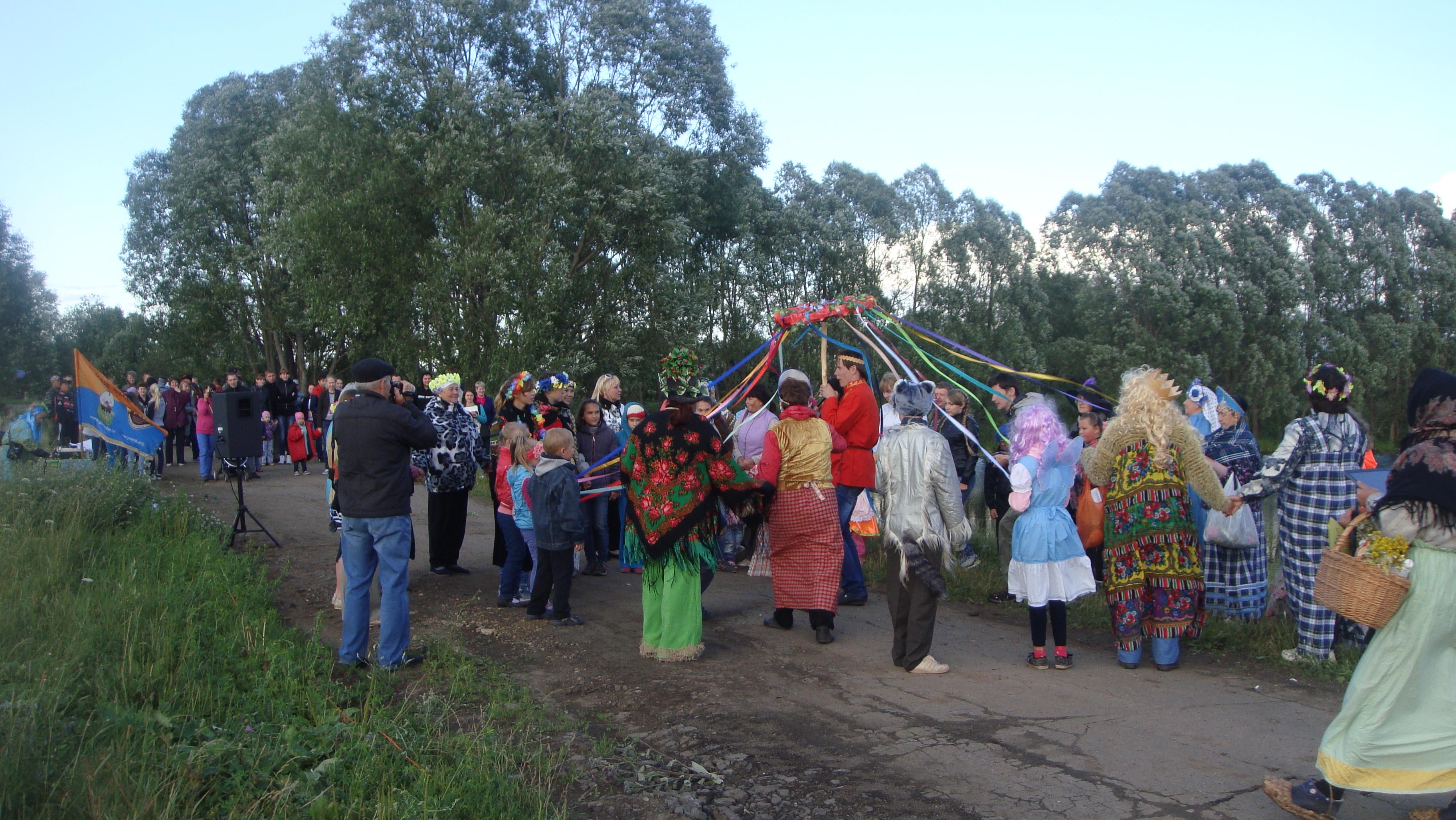 Сценарии массового гулянья на день села